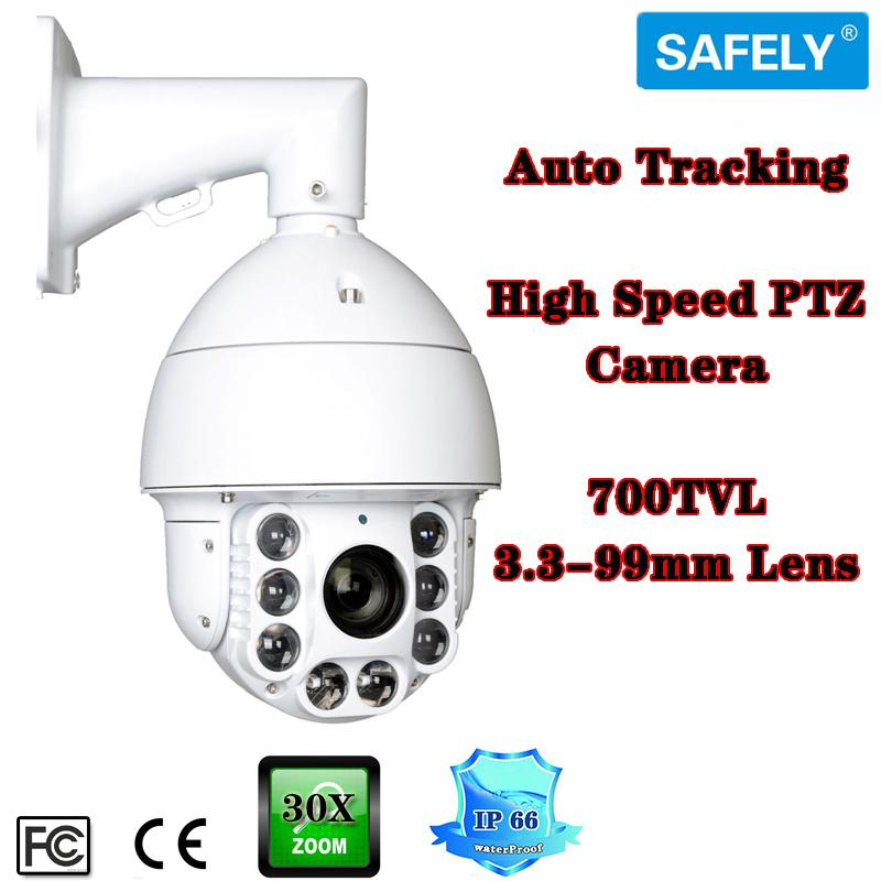 Outdoor Auto Tracking PTZ Camera CCTV 700TVL High Speed Dome 30X ZOOM IR 150M Pan/Tilt(China (Mainland))