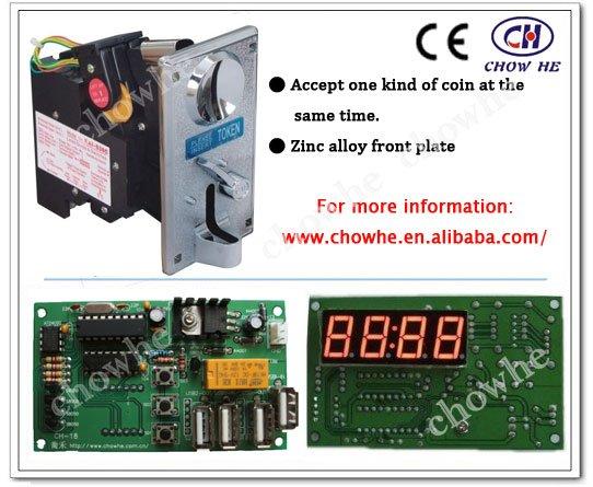 Coin Selector Circuit Cpu Coin Selector Acceptor
