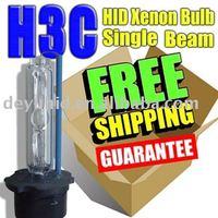 Free shipping xenon lamp H3C 3000K H3C 4300K HID xenon bulb H3C auto 12V 35W  plastic base hid xenon light hid