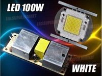 100W Warm / Cold White High Power 6500LM LED Lamp Light + AC Driver