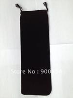 Free shipping !!!  Extra  large 10 x 28 cm Velvet Bag/Jewelry Bag/Velvet pouch (BZD001)