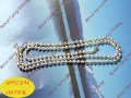 10% OFF wholesale: freeshipping lot of 100pcs 24inch 2.4mm very shinny silver plated ball chain