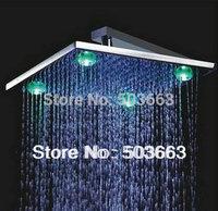 10''LED  faucet bathroom chrome shower head  b8101