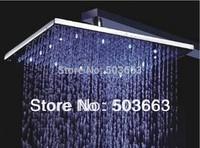 10''LED  faucet bathroom chrome shower head  b8100 Shower Head