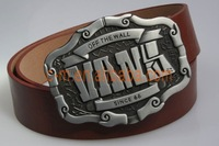 2012 Best Sell Fashion Western belt buckle with Belt  M03Z Free Shipping