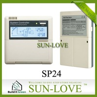 SP24 Solar Controller Regulator,Solar Water Heater Controller,Solar Thermal Controller,110/220V,LCD Display,Free Shipping
