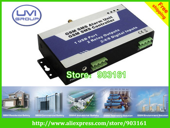China Post Free shipping GSM intelligent controller for car alarm security system( RTU22)