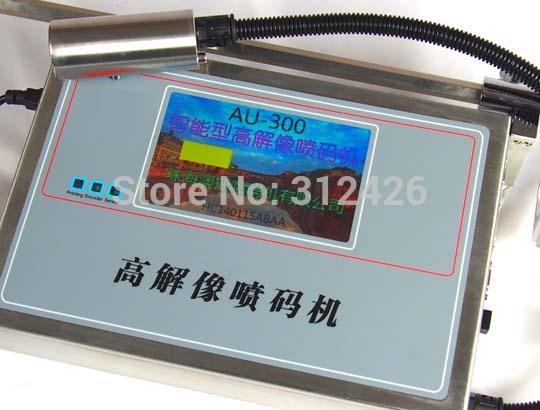 free shipping: AU-300 on-line ink jet printer, portable inkjet printer(China (Mainland))