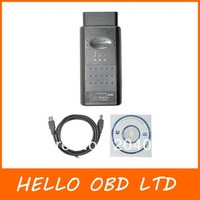 Free Shipping Newly 2013 OBD2 Op-com / Op Com / Opcom/for opel scan tool OPEL TECHII USB Interface tech 2