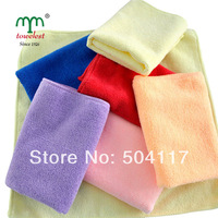"New 2014 Promotion--  5pc/lot 30x30cm(12""*12"") Absorbent  Microfiber Towel Hand Towel and Face Towel  Cleansing  Cloth 130001"