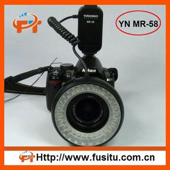 Yongnuo LED Macro Ring MR-58 Flash Light for Nikon Canon Pentax DSLR Camera