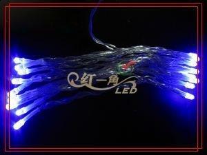 DHL Free shipping 100pcs 4M 40 LED  Portable AA Battery power LED Light  , Mixed color