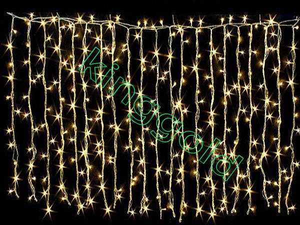 3mx3m Yellow led curtain light waterproof Garden wedding christmas Background wall X'MAS decoration outdoor led string light(China (Mainland))