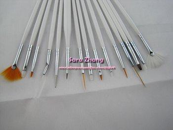 15pcs/set professinal  Nail Art Design Brush Set Painting Pen /Nail Brush Set  Free Shipping