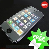 wholesale 200 pcs/lot screen protector for iphone 4G free shipping