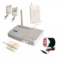 DIY Smart Alarm GSM System Remote Control Auto Dialing Intercom System Wireless Wired Security Alarm System Infrared Detector