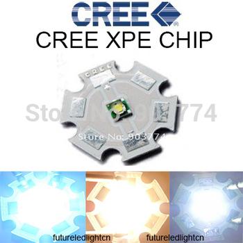 2015 Cree Xlamp Cree XPE XP-E R3 1-3W LED Emitter Neutral White Cool White Red Green Blue Royal Blue LED with 20MM heatsink