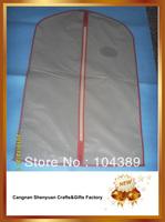 milk nylon suit bag,