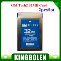 2PCS/LOT 2014 Latest Version 32 MB Card For G-M TECH2 Opel /G-M /SAAB/ISUZU/Suzuki/Holden Original 32 MB Memory 32 mb saab