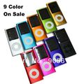 Big Discount! 8GB Slim 1.8&quot; 4th LCD MP3 MP4 Player FM Radio Video 9 COLORS +free shipping