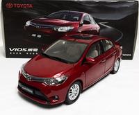 1pcs/ lot  1:18 TOYOTA VIOS 2013  Car model (Red) New arrival