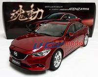 1pcs/lot  1:18 MAZDA ATENZA 2014  Die-cast Car model(Red ) new arrival