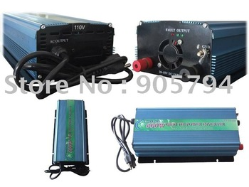 Free shipping! New 600W GRID TIE INVERTER, DC28-55V/AC190-240volt for solar panel or wind turbine