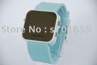 Fashion Jelly Watch Led Digital Watch Sport Watch Mix Color Free DHL