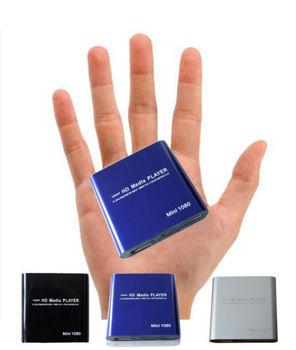 MINI 1080P Full HD Media player With SD/MMC card reader USB HDD HOST OTG -sample