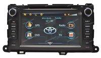 2010 2011 2012 Toyota Sienna HD 2DIN Car DVD GPS Navi Navigation Autoradio Headunit USB TV IPOD Player 800*480 Free shipping