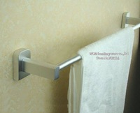 wall-mounted brass towel pole( towel rail,towel holder, towel hanger)