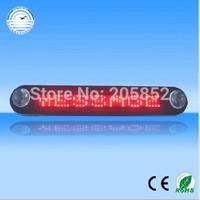 car message sign 12V LED Message Digital Moving Scrolling Car Sign Light SMTB0019