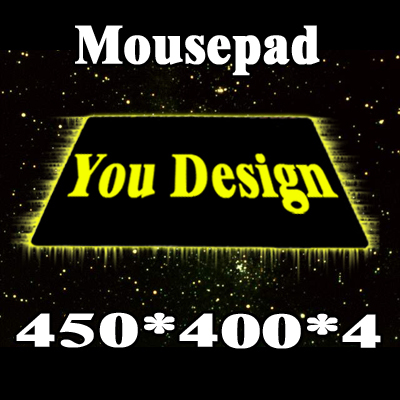Custom service on Mousepad with Different Sizes, Trendy and YOUR own LOGO Fast & Free Shipping(China (Mainland))