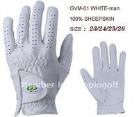 good quality lamb skin golf glove for men