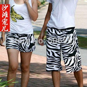 Wholesale  shorts pants Men's and women's beach shorts, summer shorts,Couples with clothing Free shipping  NO.1