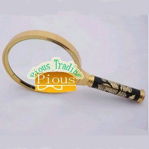 Wholesale of the optical instrument magnifier with dragon handle (dia:90mm)(China (Mainland))