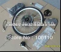Free shipping! 36v 10ah lithium battery+36v 500w electric bike conversion rear kit,e-bike kits
