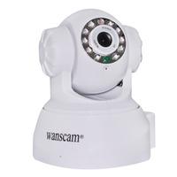2 pcs Wanscam Plug&Play Dual Audio LED WiFi IR NightVision PanTilt CCTV Security Monitor IP Camera Web Cam with Motion Detection