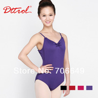 Dttrol Women's Pinch Front Camisole dance ballet leotards (D004854)