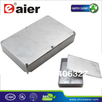 1590DD aluminum pedal enclosure box