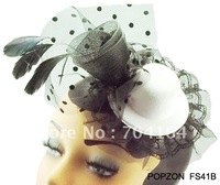 Hair Clip Mini Top Hat, Free shipping, Assorted colors,2012 Children's Fashion Hair Accessories