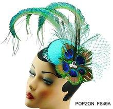 popular feather fascinator