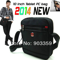 2013 Fashion 2014 New Men Messenger Bags Men Handbag Husband Gifts 10' Wenger Swissgear Tablet pc case Business Shoulder bag