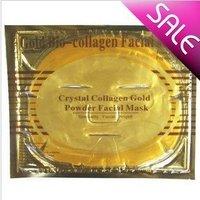 100pcs 24K karat Magic Collagen Crystal gold facial Mask,Anti-aging,Moisturizing