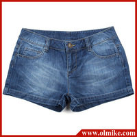 TOP Rated 2013 Summer ladies' casual Denim short jeans, Womens cotton washed shorts color blue size S M L XL XXL WA177