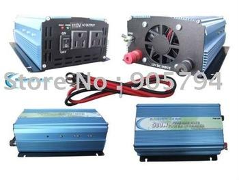 DC to AC, 500w Pure Sine Wave Power Inverter DC12v, AC190-250v for battery, solar panels