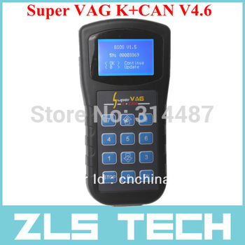OBD2 auto k+can code reader scanner Super VAG K+CAN V4.6 Diagnostic can bus scanner with the best price