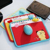 cartoon cloth MousePad, 10pcs/lot, Free Shipping