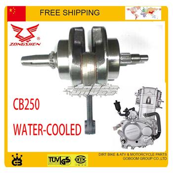 zongshen 250cc crankshaft Crank Shaft Dirt bike ATV QUAD  water cooled  CB250 engine accessories free shipping