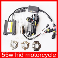 12v 35W motorcycle hid kit h6 hi lo white , blue, purple, green light hid lamp MOQ: 10 sets